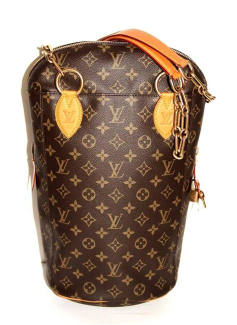 louis vuitton  karl lagerfeld punching bag iconoclast collection  stdibs