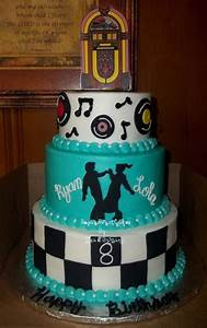 Sock Hop ~ Double Birthday - CakeCentral com