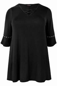 I Watch Kaufen : tunika mit gekreuzten b ndern schwarz gro e gr en 44 64 ~ Eleganceandgraceweddings.com Haus und Dekorationen