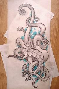 17 Best images about Tattoos / octopus on Pinterest ...