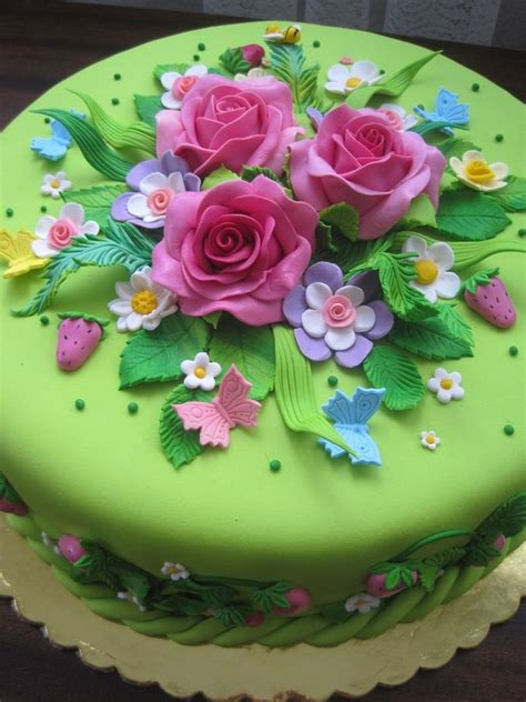 flower birthday cake 17 best ideas about flower cakes on floral