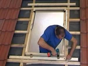 Fenster Nachträglich Einbauen : install a rooflite roof window 7 tile roof part two fix the frame youtube ~ Watch28wear.com Haus und Dekorationen