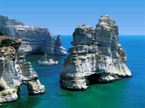 Travel Thru Greece With Mara Milos Island