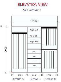 standard closet measurements  design  meant