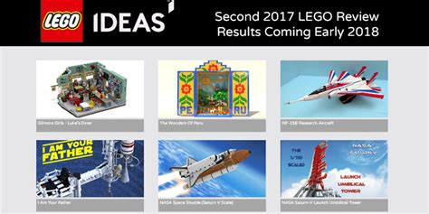 lego ideas 2018 lego ideas announces second half of 2017 results with an outcome 9to5toys