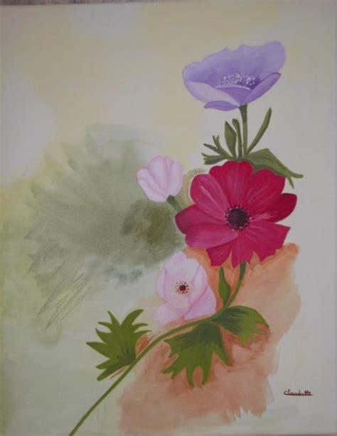 peinture sur toile pour debutant exemples de tableaux en peinture acrylique sur toile pour