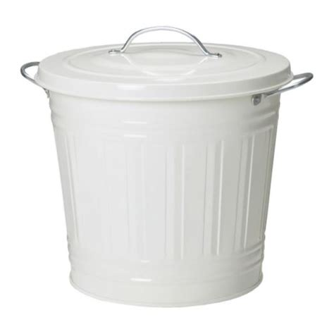 ikea poubelle salle de bain knodd poubelle blanc 16 l ikea