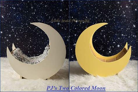 pjs moon prop painted newborn prop photography prop