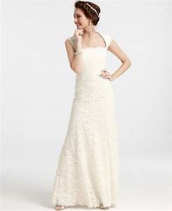 ann taylor isabella lace wedding dress 282532 size 3 With ann taylor dresses wedding