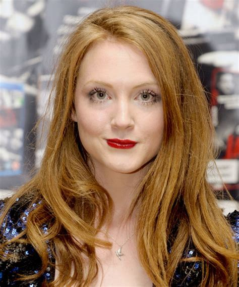 Olivia Hallinan Long Straight Casual Hairstyle with