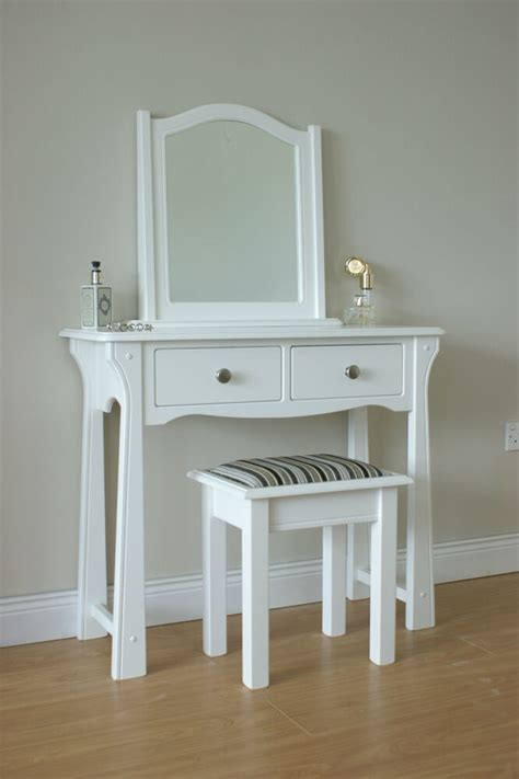 Dressing Table With Mirror And Stool by Dressing Table Stool Mirror White Bedroom Ebay