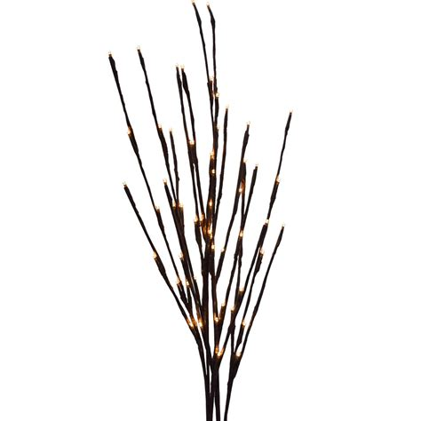 battery operated warm white led lighted branches 39