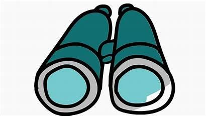 Binoculars Cartoon Animation Hand Clipart Illustration Drawing