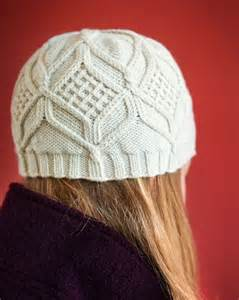 Knit Cable Hat Knitting Pattern