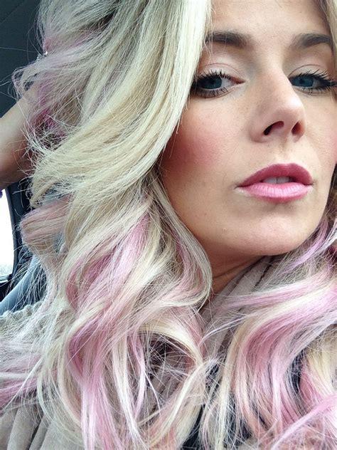 Pastel Pink Hair Subtle Pink Hair Pastel Pink Hair