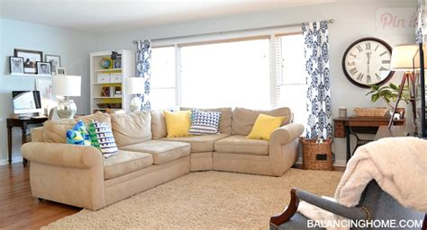 Honey We're Home Our Living Room Sectional (pottery Barn