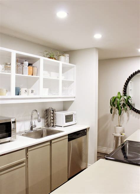 before and after kitchen remodel on a budget trendy home