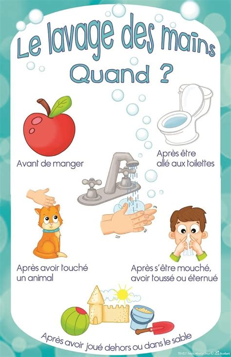 protocole de lavage des mains en cuisine collective lavage des mains quand scolart