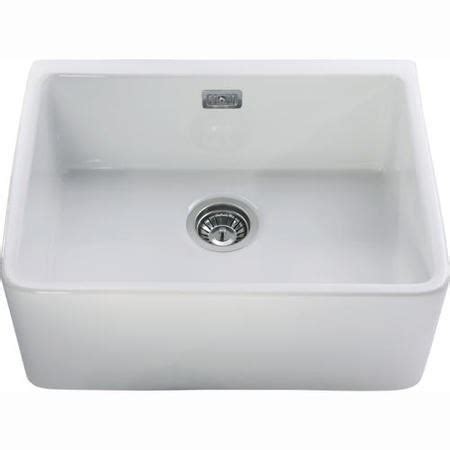 black ceramic kitchen sinks cda kc11wh single bowl ceramic belfast sink white 4659