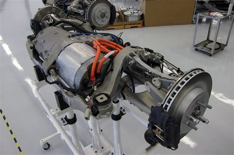 Electric Motor Engine by Tesla Model S Electric Motor And Inverter The Human