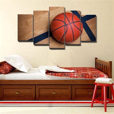 Boys Bedroom Wall Decor by Basketball Sports Canvas Wall For Boys Bedroom Decor
