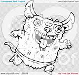 Gremlin Gizmo Coloring Template Gremlins Mogwai Step Clipart Draw sketch template