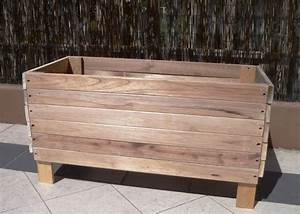 Large Old Reusable And Reclaimed Raised Wood Planter Boxes