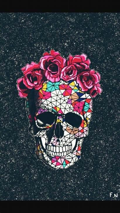 Skull Sugar Background Iphone Cool Backgrounds Uploaded