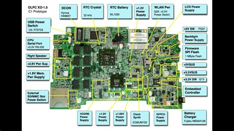 Testing The Charging Circuit Laptop Motherboard Part