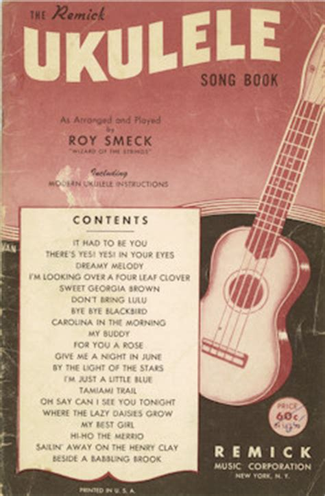 Long & mcquade is canada's biggest music store offering a huge selection of ukulele sheet music, music books & much more. Vintage ukulele song books and song sheets