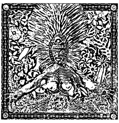 shamanic drawing myths legends adult coloring pages