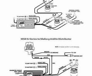 Msd  Pn 6425 Wiring Diagram Brilliant Mallory Comp Ss