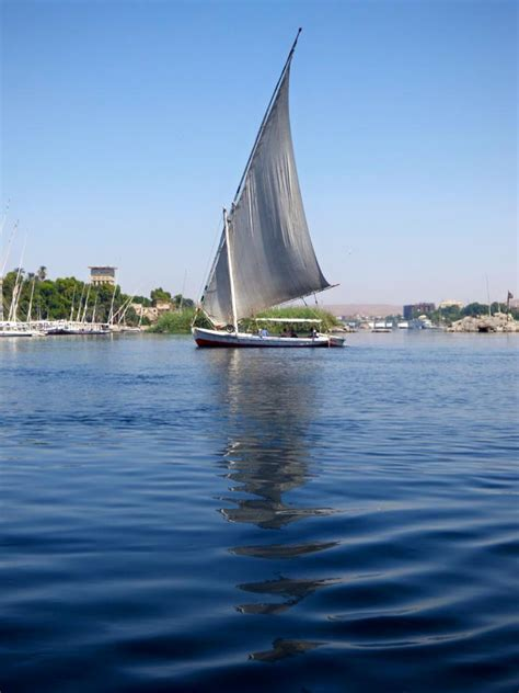 Felucca Boat by Sailing The Felucca Boat On Nile Travel2unlimited