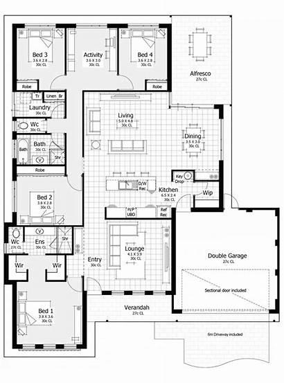 Floor Plan Open Key Area Master Drop