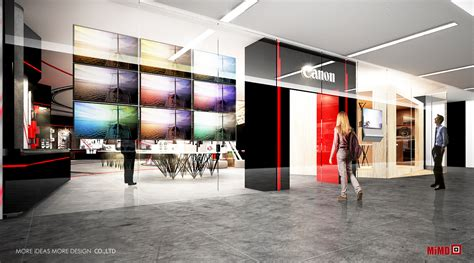canon concept store the proposal design for the