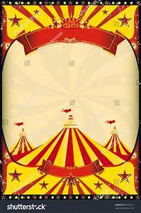 Circus Poster Big Top Grunge Vintage Stock Vector 89162221 ...