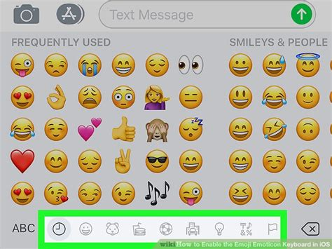 enable  emoji emoticon keyboard  ios  steps
