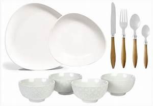 Service Assiette Design : o trouver de la jolie vaisselle blanche joli place ~ Teatrodelosmanantiales.com Idées de Décoration