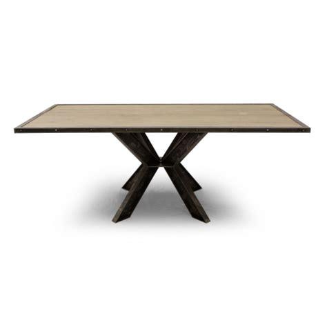 canapé fixe table salle à manger industriel york pied central ipn