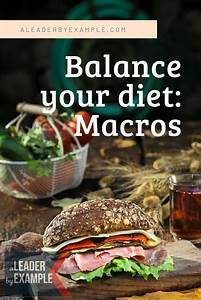 Balancing Your Macronutrients Doesn U0026 39 T Have To Be Hard  Arm