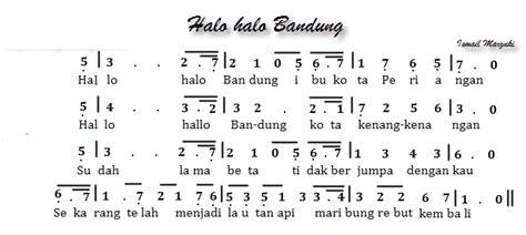 not lagu kun anta untuk pianika not angka lagu pianika halo halo bandung