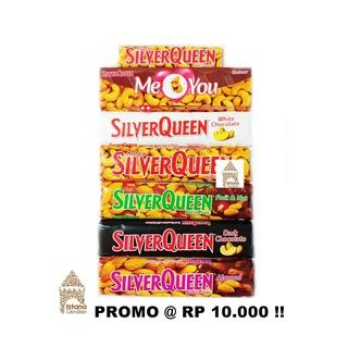 coklat blok olahan silverquen shopee indonesia