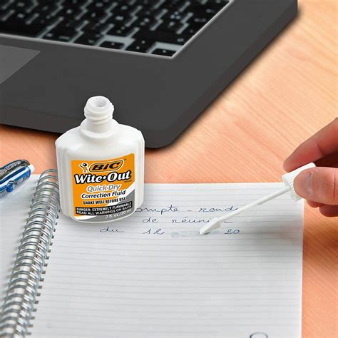 Amazon.com : BIC Wite-Out Quick Dry Correction Fluid - 3