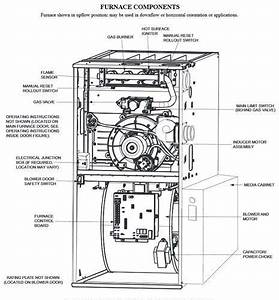 34 Upflow Furnace Diagram