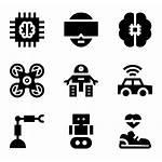 Future Icon Technology Futuristic Icons Packs Vector