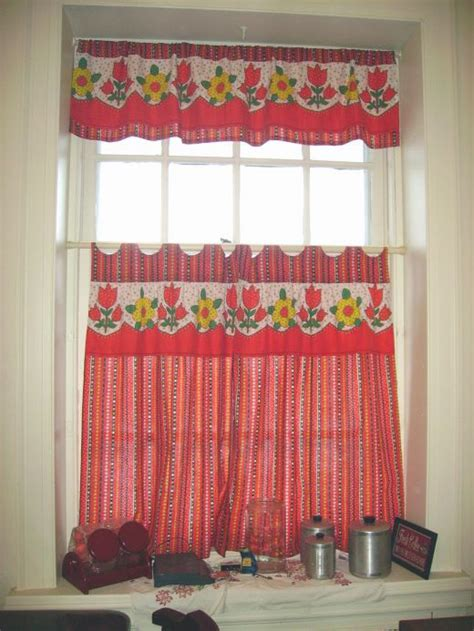diy kitchen curtain ideas diy idea how to and sew kitchen curtains from square