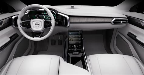 volvo cars unveils concept  delivering  luxury  time
