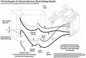 Schluter Ditra Heat Thermostat Wiring Diagram