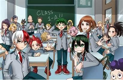 Wallpapers Bnha Class Academia Hero