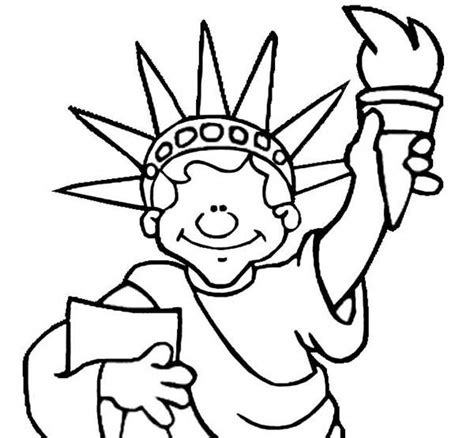 lady liberty coloring pages coloring pages